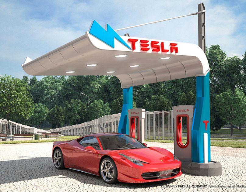 10th Bridges Gas Station Proposal on Behance Gasolinera