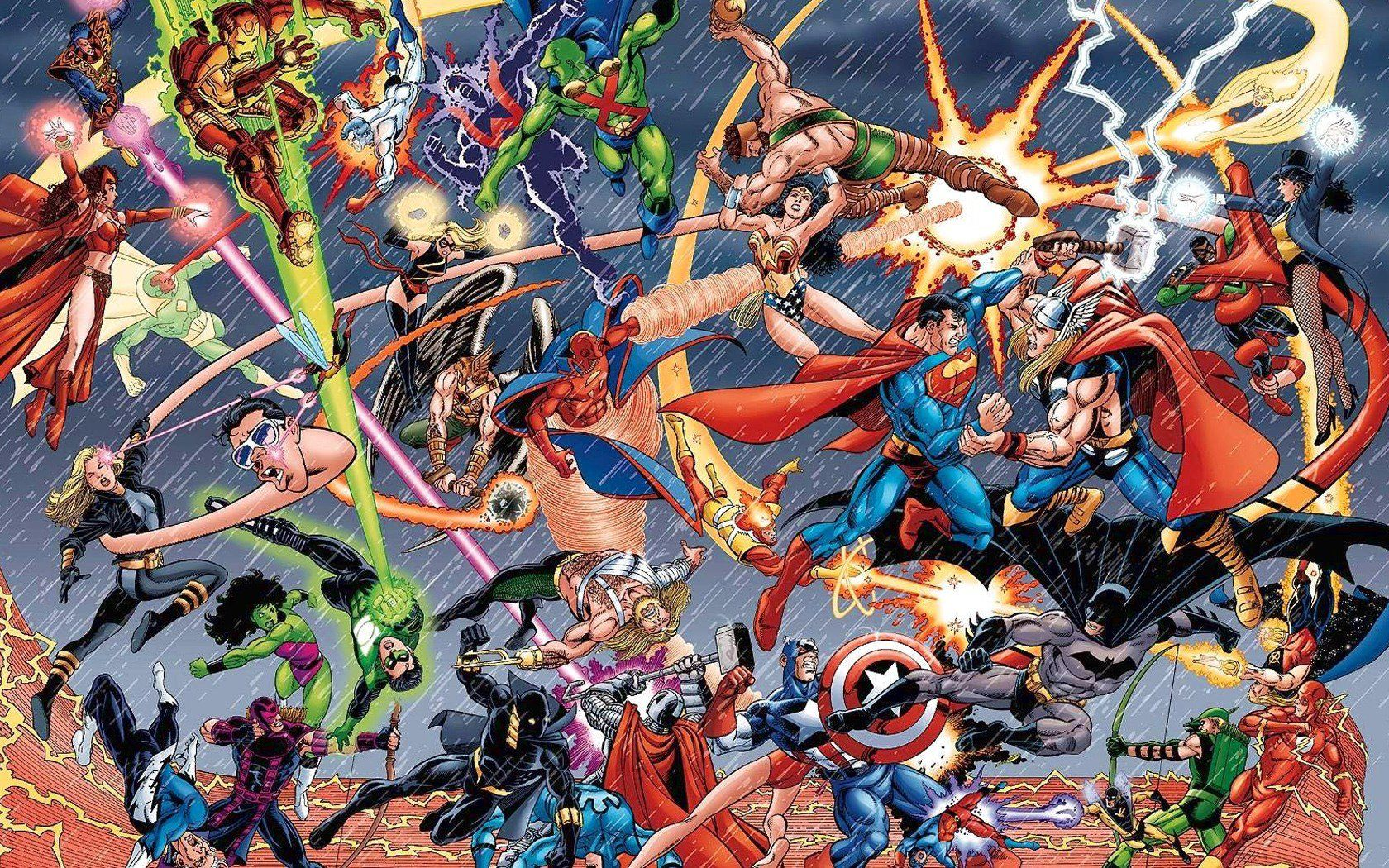Your Guide for Upcoming Comic-Book Movies (2016)