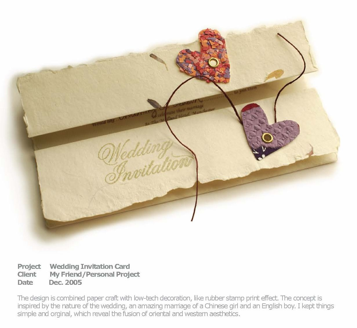 Creative Wedding Invitations Card Design  Wedding invitation