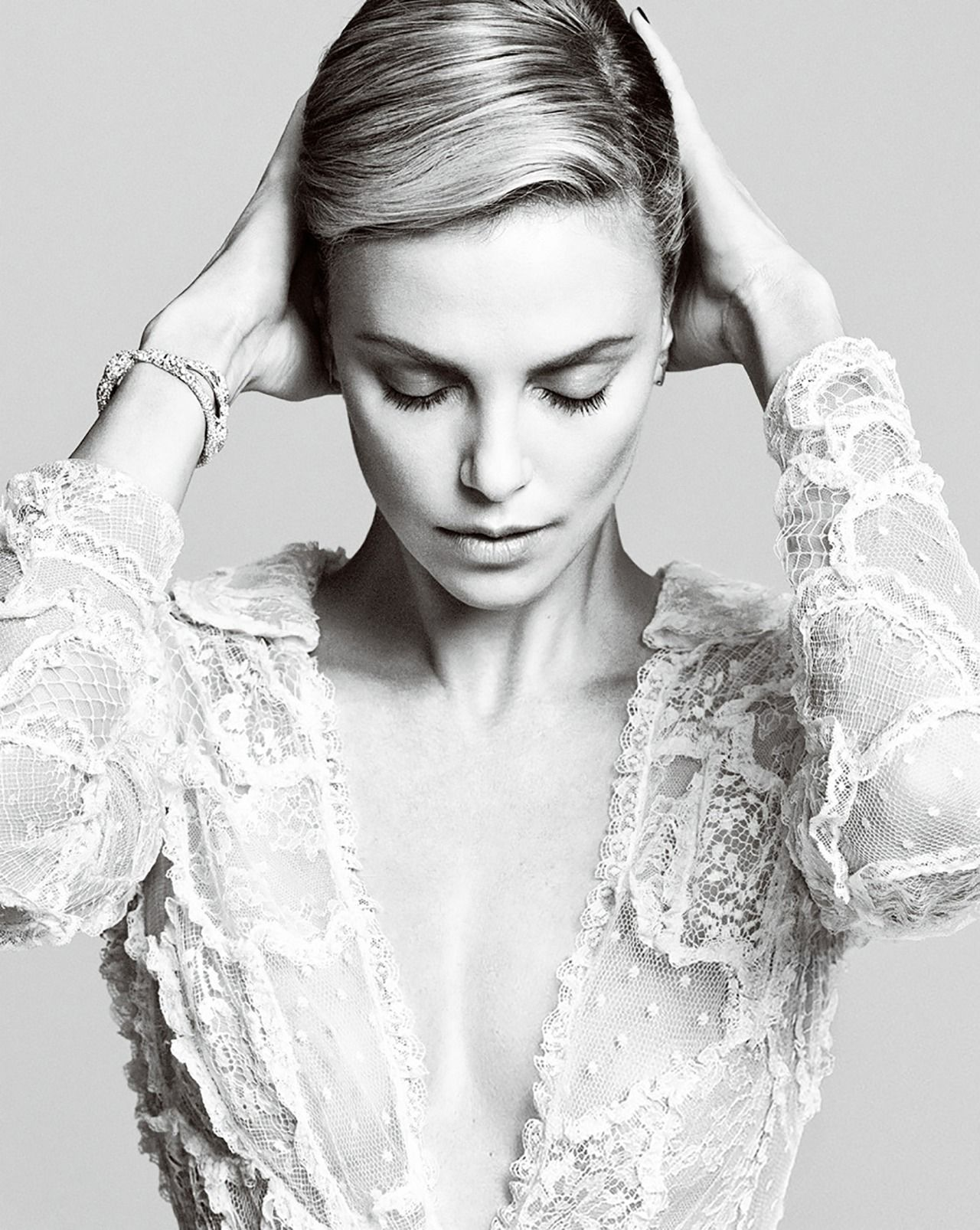 Theron charlize harpers bazaar october forecasting to wear for spring in 2019