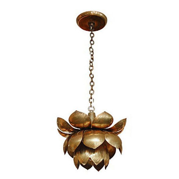 Brass lotus lights lotus chandeliers and modern lotus chandelier in brass how unique cool example of modern vintage mix pendant light aloadofball Image collections