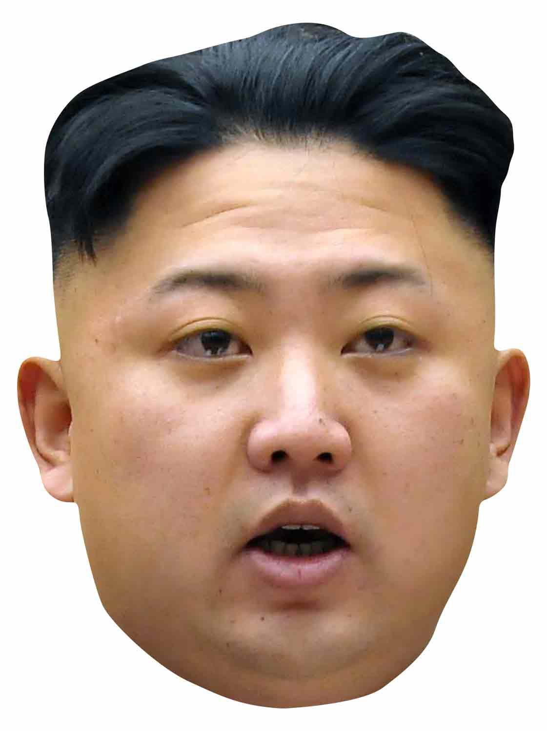 Kim Jong Un Party Maske Party Masken Masken Fasching Party