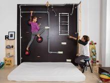 ratgeber kletterwand indoor kletterwand f r das kinderzimmer selbst bauen roc kids. Black Bedroom Furniture Sets. Home Design Ideas