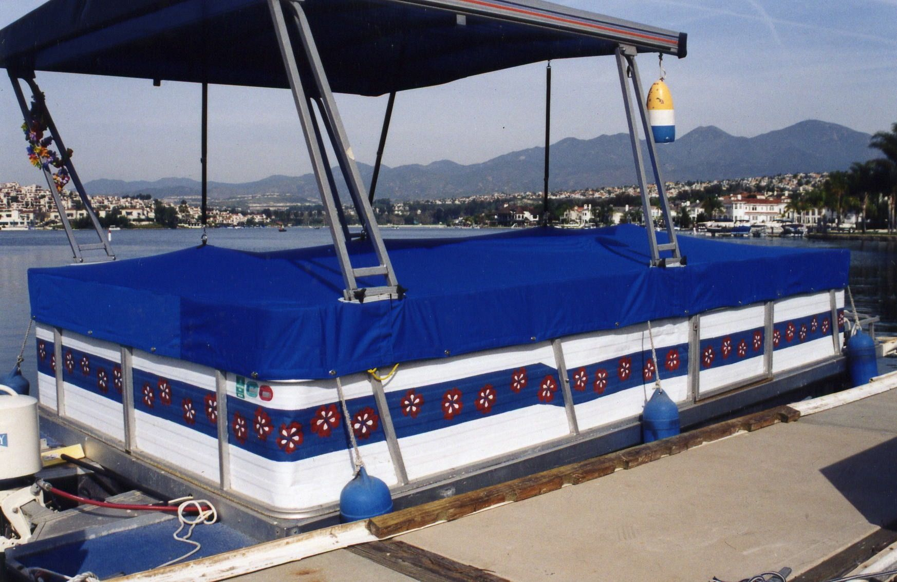 Custom Pontoon Boat Cover (With images) | Pontoon boat ...