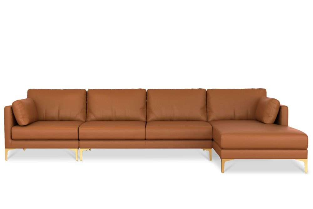 Adams Extended Chaise Sectional Sofa Leather Products In 2019 Leather Sectional Sofas Sectional Sofa Leather Sofa