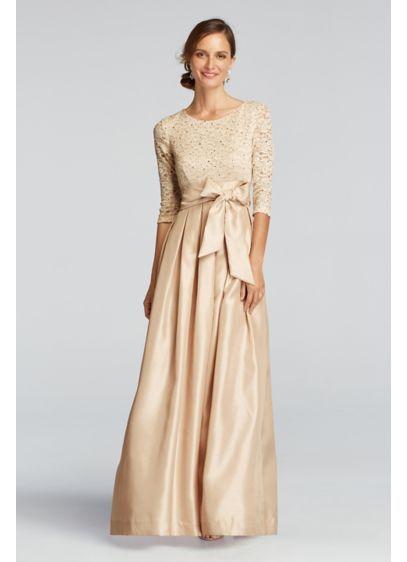 a5a4bc8b0 Long Ballgown 3 4 Sleeves Formal Dresses Dress - Jessica Howard