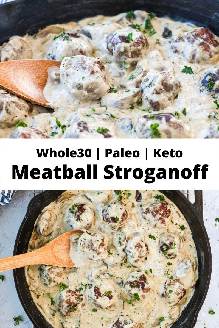 Photo of Whole30 Meatball Stroganoff