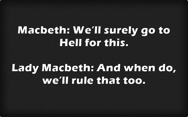 macbeth and lady macbeth quotes