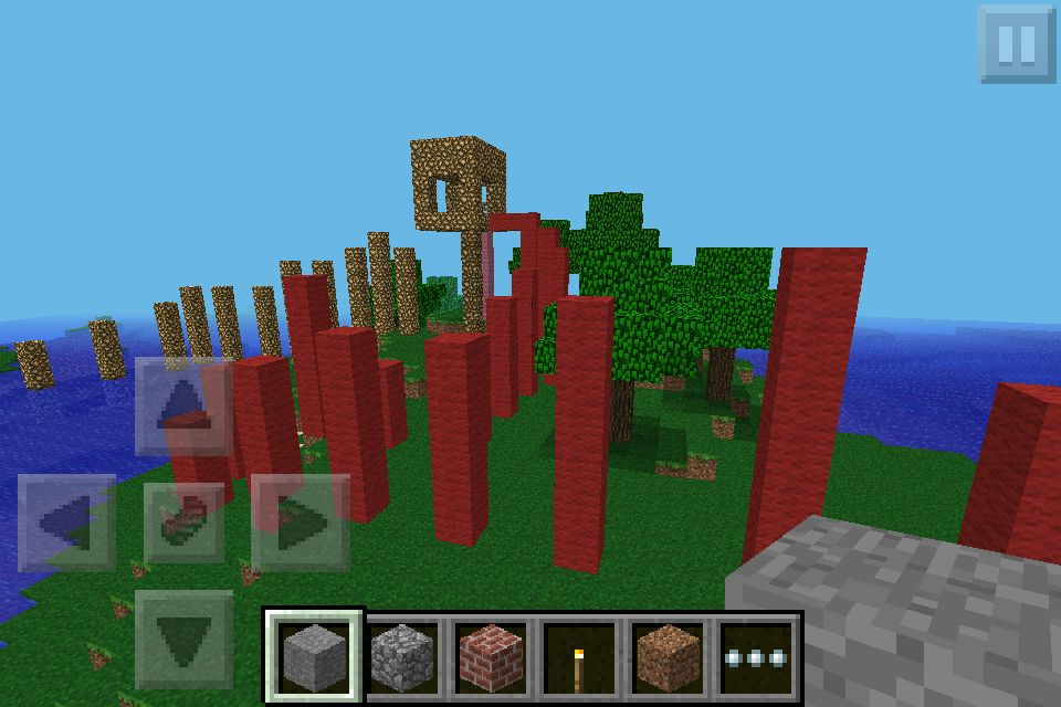 Bored In Minecraft Pe Build A Creative Parkour Map To Share With