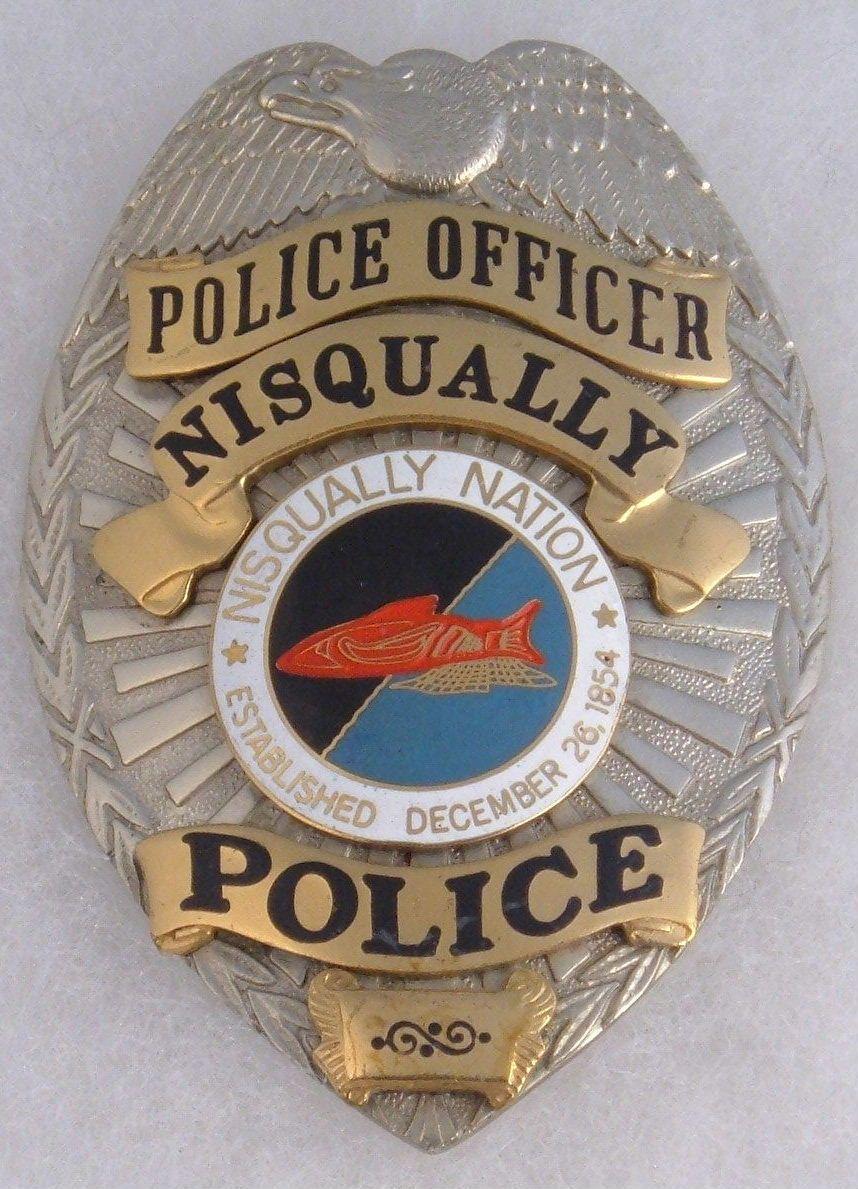 Police cap badges ga rel hat badges page 1 garel - Nisqually Tribal Nisqually Nation Police Officer Police Badgespolice