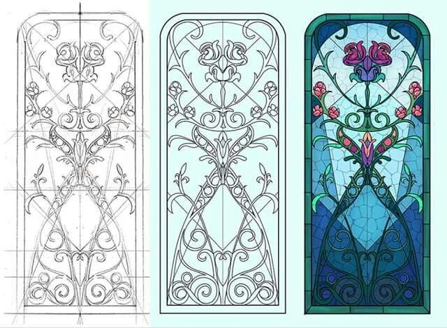 Design: Kam Cheung, colour: Eve Skylar