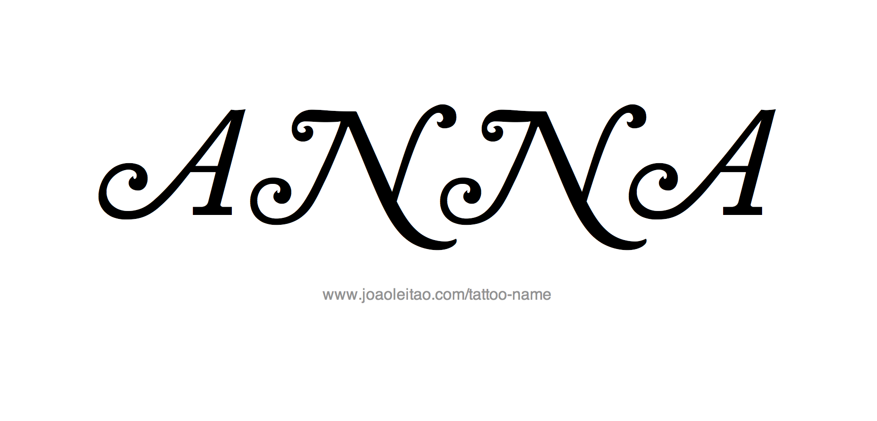 Anna Name Tattoo Designs Tattoo Designs Name Tattoo Name Tattoos