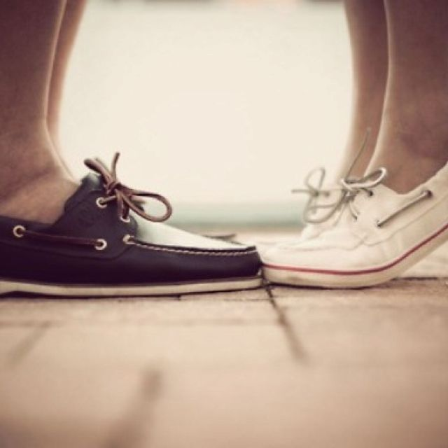 Cute picture with sperries!