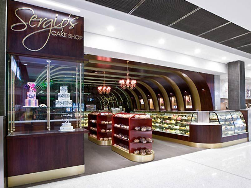 Very elegant cake and bakery shop interior design bakery for Interior design online shop