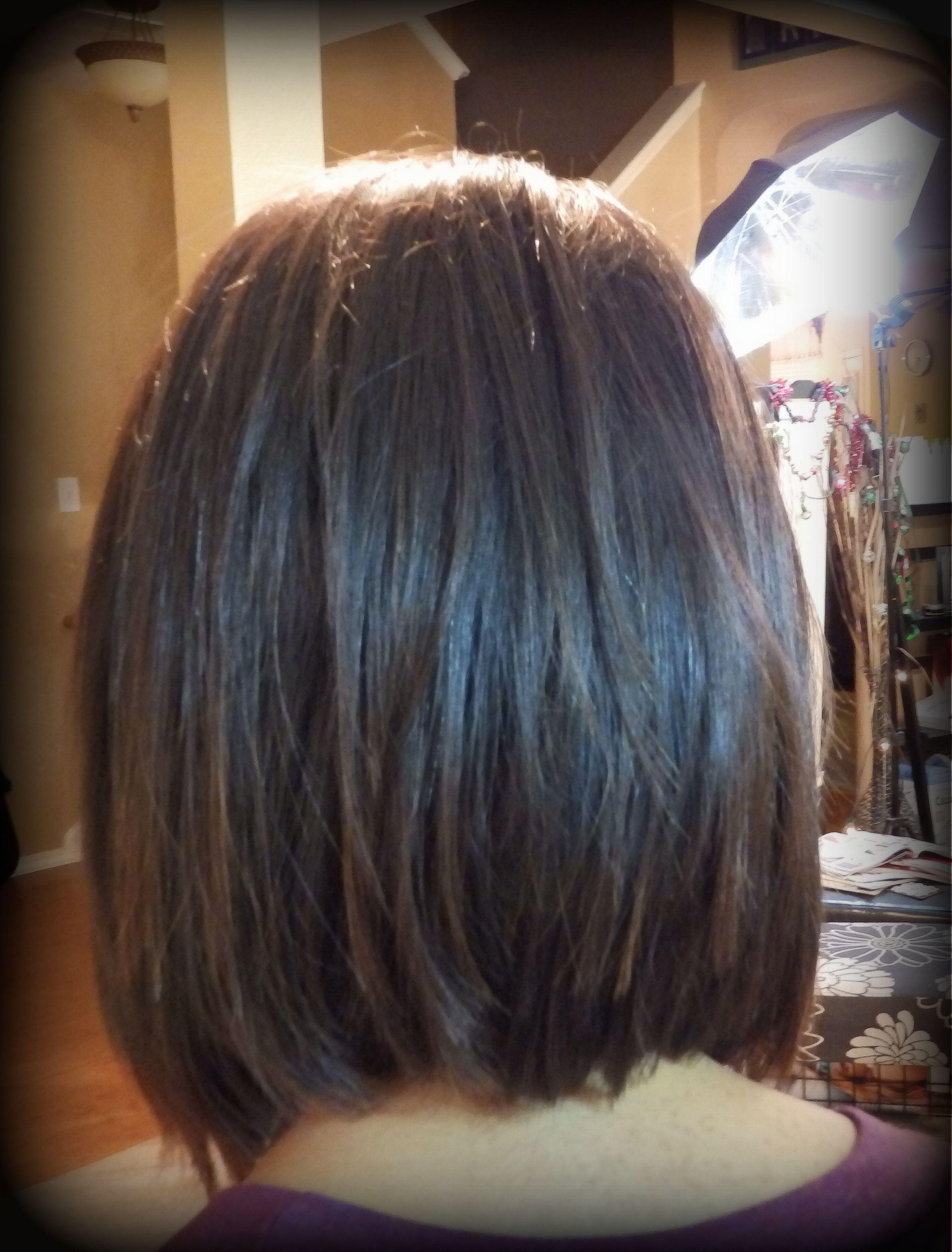 brunette super textured slight