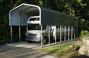 Metal Carports - RV / Boat Cover - Portable see Jaw ...
