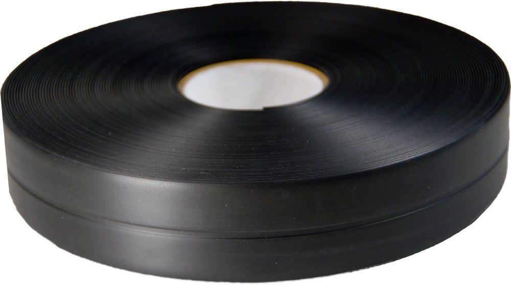 Knickwinkelleiste Pvc 25m Schwarz Selbstklebend Sockelleiste Knick Kunststoff Sockelleisten
