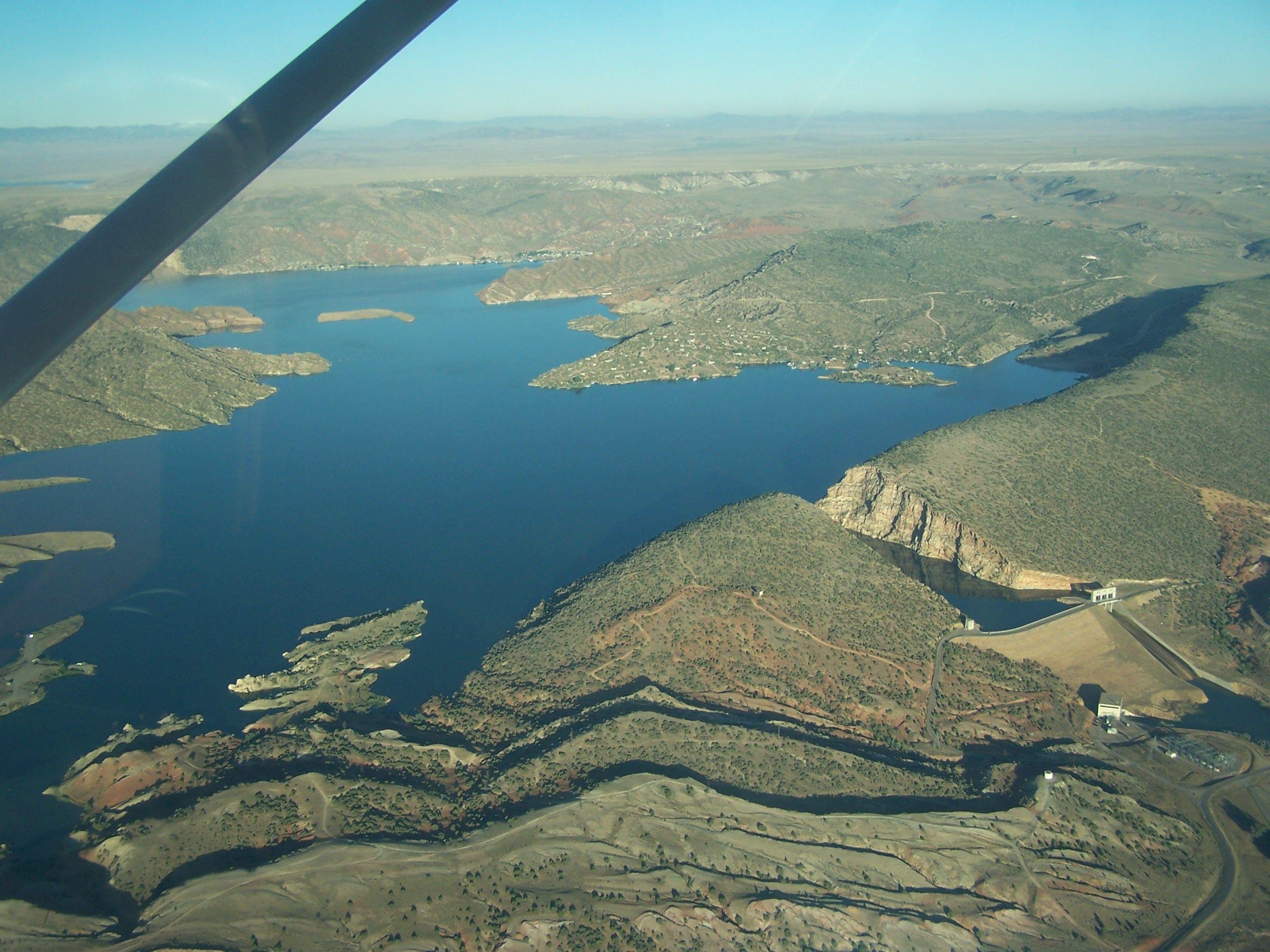 Alcova Lake Casper Wyoming Always Drove Past Here When I