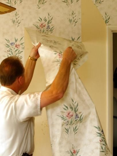 How To Remove Wallpaper Removable Wallpaper Old Wallpaper Wallpaper