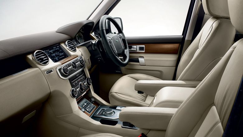 Land rover discovery leather almond interior outfits - Range rover sport almond interior ...