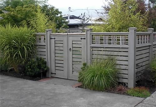 Lattice Top Fence Gates And Fencing Devonshire Landscapes Seattle