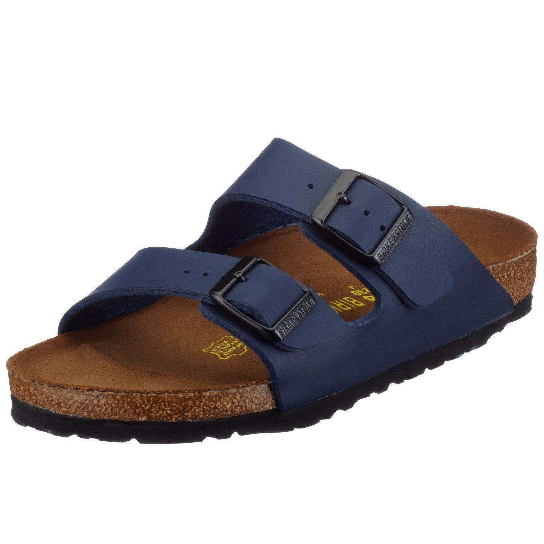 Birkenstock Arizona Blue Birko Flor Sandals Regular Width