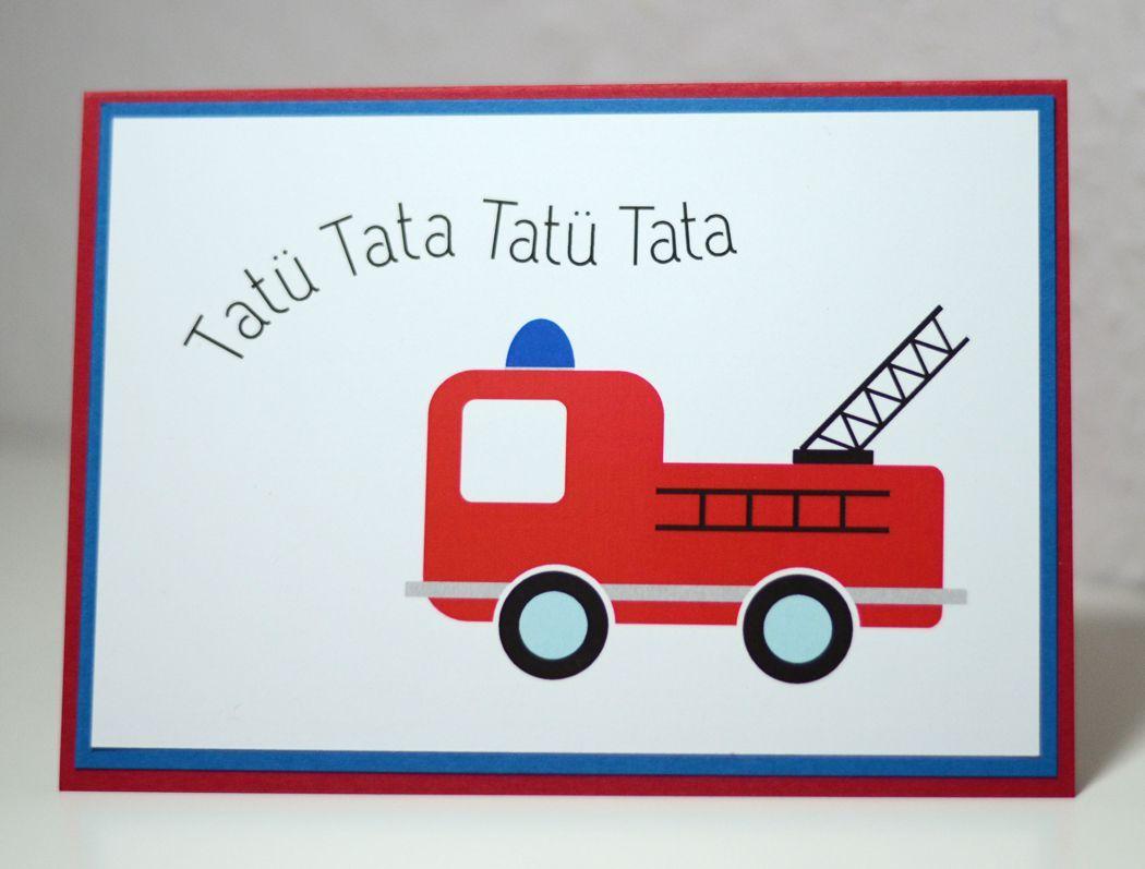 Feuerwehr Zum Basteln Geburtstagskarten Feuerwehr Feuerwehr Geburtstag Einladung Kindergeburtstag Basteln Feuerwehr Einladung Kindergeburtstag Texte Geburtstag