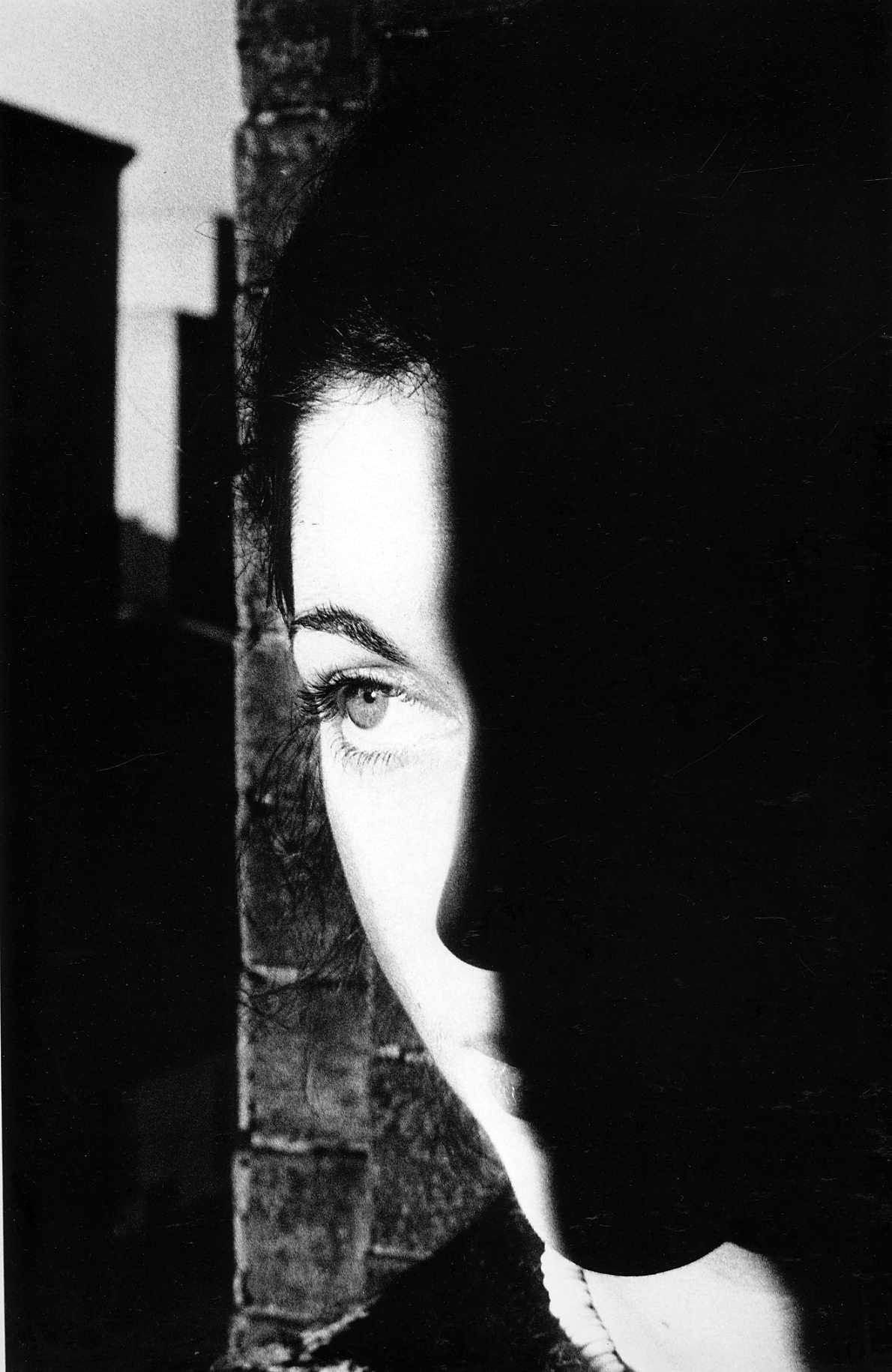 Ralph Gibson - Duality I like the way it has captured a side of the face and that the eye really stands out on this photo and i think that why people always look at the photo just because of the quality In the photo and the eye.