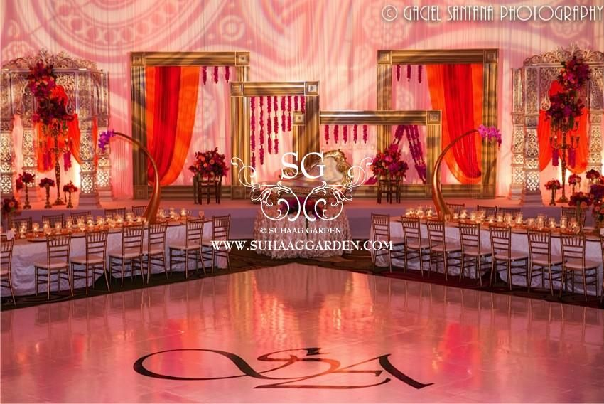 Suhaag Garden Indian Wedding Decorator Florida Wedding Decorator