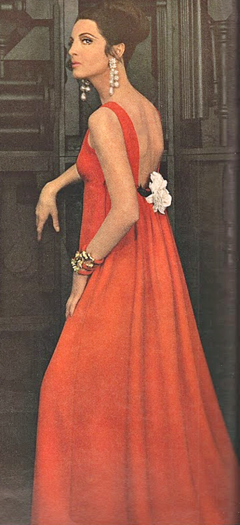 Vintage Evening Gown 1960's - simply lovely