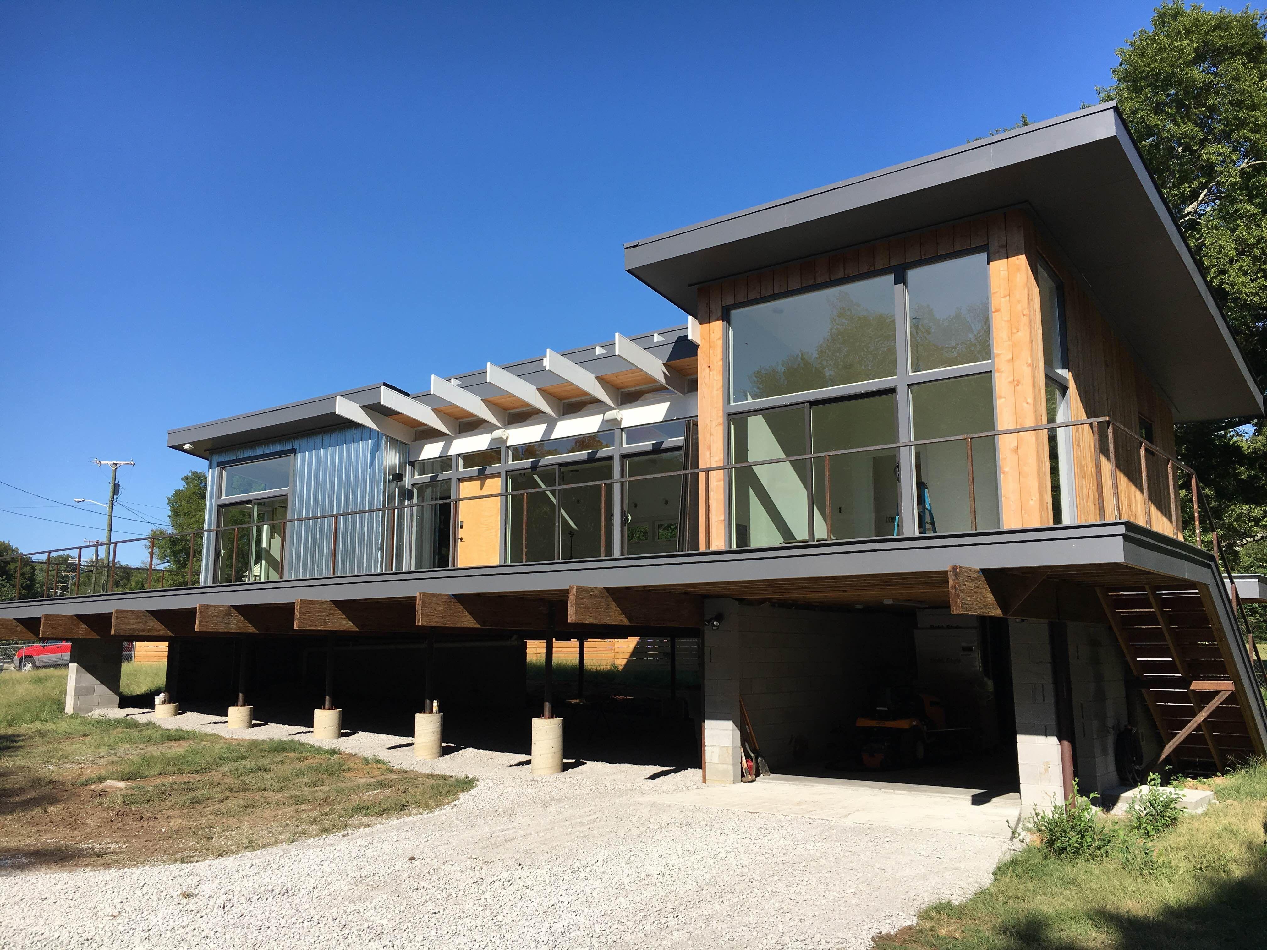 Best Kitchen Gallery: This Wild Idea's Theron Humphrey Builds His New Home In Nashville of Modern Homes Nashville  on rachelxblog.com