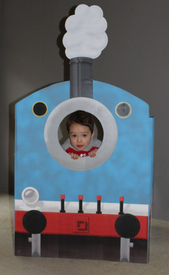 Train Engine photo booth (printable) | Anthony\'s 2nd birthday ...
