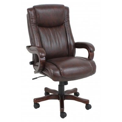 Barcalounger 9494h Executive Wood Chair With Images