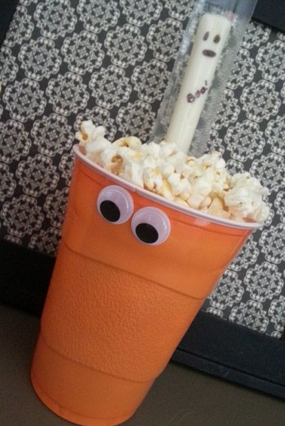 fun and healthy snack for school Halloween party   1st grade Gruin ...