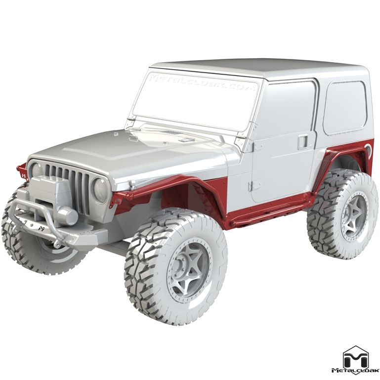 Tj Full Metalcloak Arched System 4 Jeep Wrangler Tj Jeep Gear Two Door Jeep Wrangler