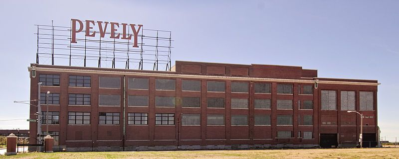 pevely dairy company  1001 s  grand boulevard in st  louis