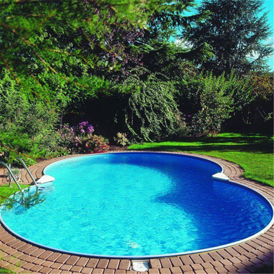 Åttaformad Pool Clear Pool Mallorca Nedgrävd
