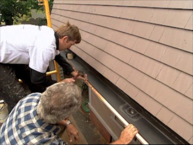 How To Install Gutter Flashing How To Guides Bob Vila S