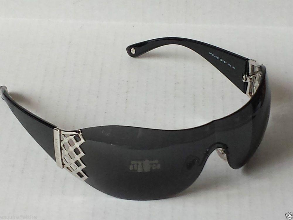 b01eac9a6da0 VERSACE Sunglasses Shield MOD.4158 GB1 B7 115 3N Black Made in Italy   Versace  Shield
