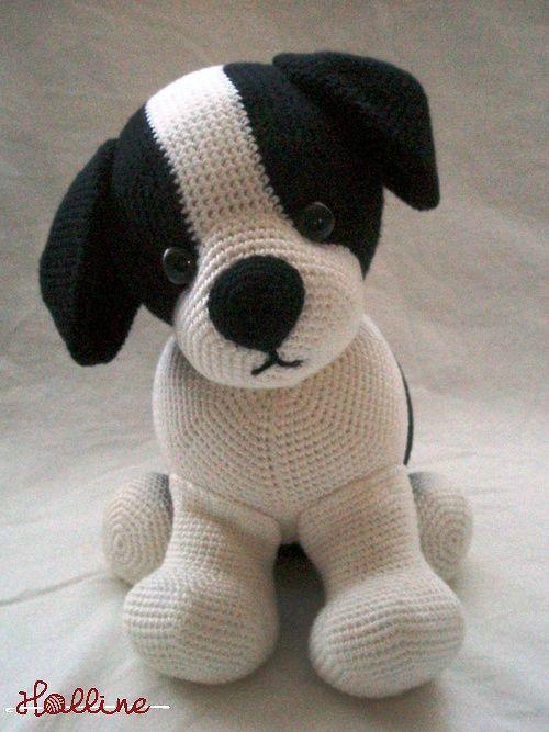 Návod Háčkovaný Pejsek Zboží Prodejce Halline Flercz Crochet