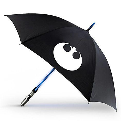 Official Star Wars Light Up Lightsaber Umbrella