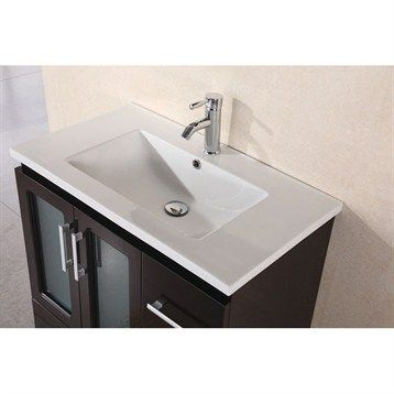 Design Element Stanton 32 Modern Vanity W Drop In Sink