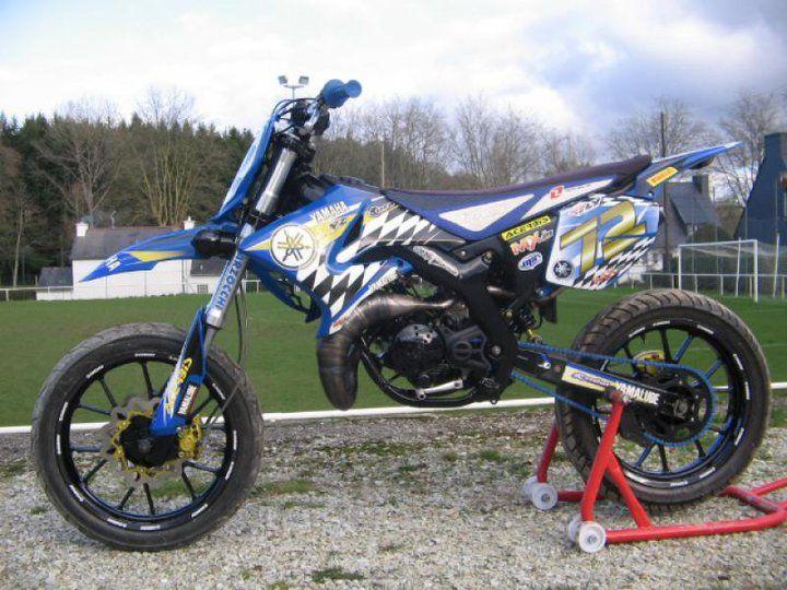 Yamaha Dt 50 Mecaboite Moto 50cc Antivol Moto