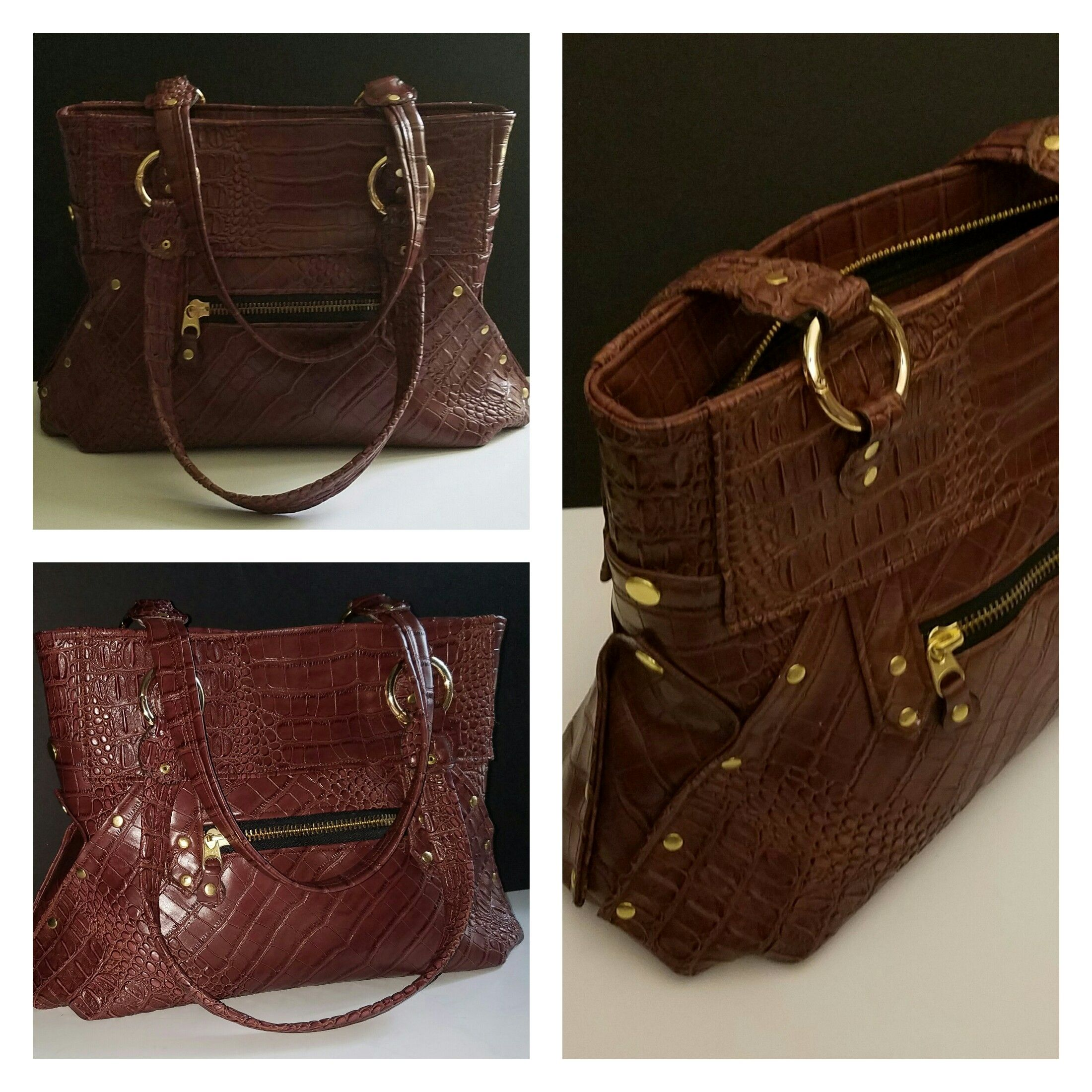 This artisan satchel style shoulder bag is perfect for every day, and every occasion. This bag comes in a variety of colors. Also comes with a wrisklet for convenience that can be purchased seperately.  Features: zipper closure,  1 zip front pocket, 2 open, 1 zip, pockets inside.  size 12'H x  15'W closure 17'W bottom   Shop this product here: http://spreesy.com/MYRABELLABAGS/7   Shop all of our products at http://spreesy.com/MYRABELLABAGS      Pinterest selling powered by Spreesy.com