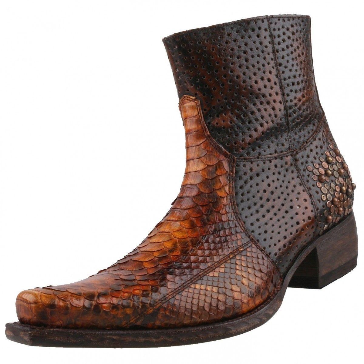 NEUF sendra Boots Chaussures Hommes Bottes Bottines Hommes Bottes Bottes en cuir