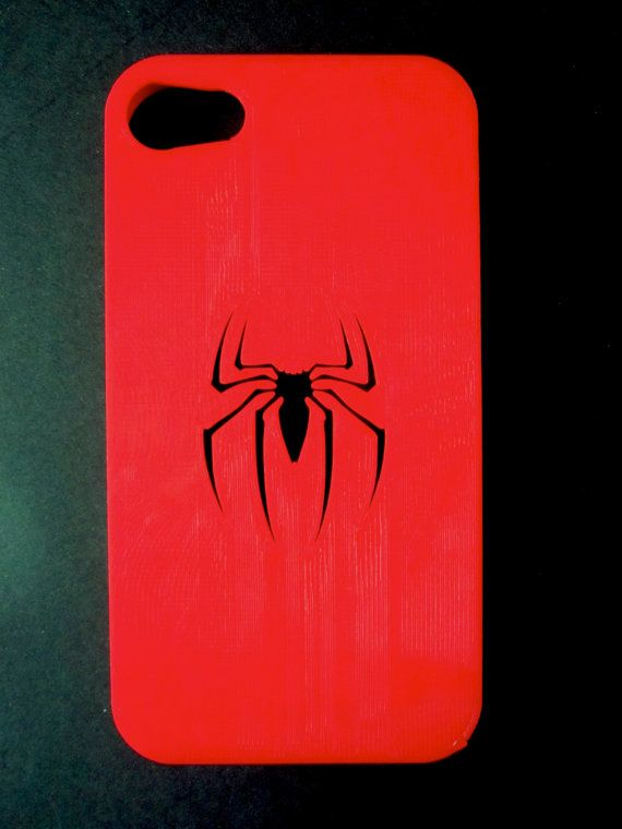 Spiderman Symbol Iphone 5 4s And 4 Case Silverred By Untimed