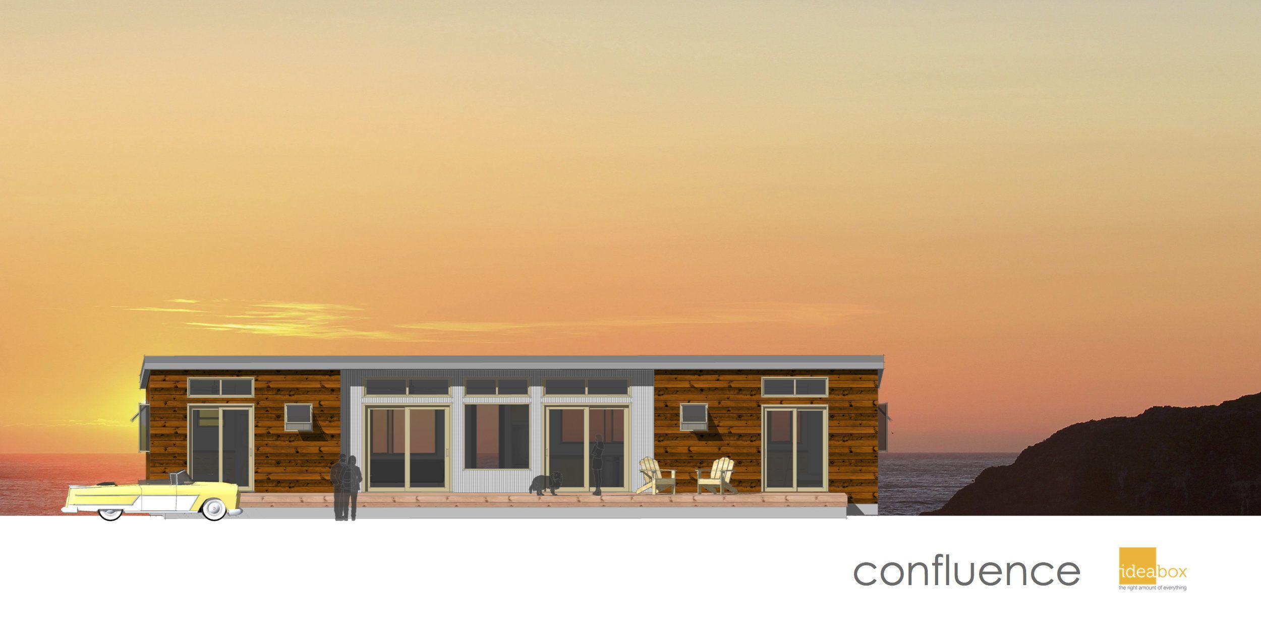 Pin By Brett Fanning On Small House Modern Prefab Homes