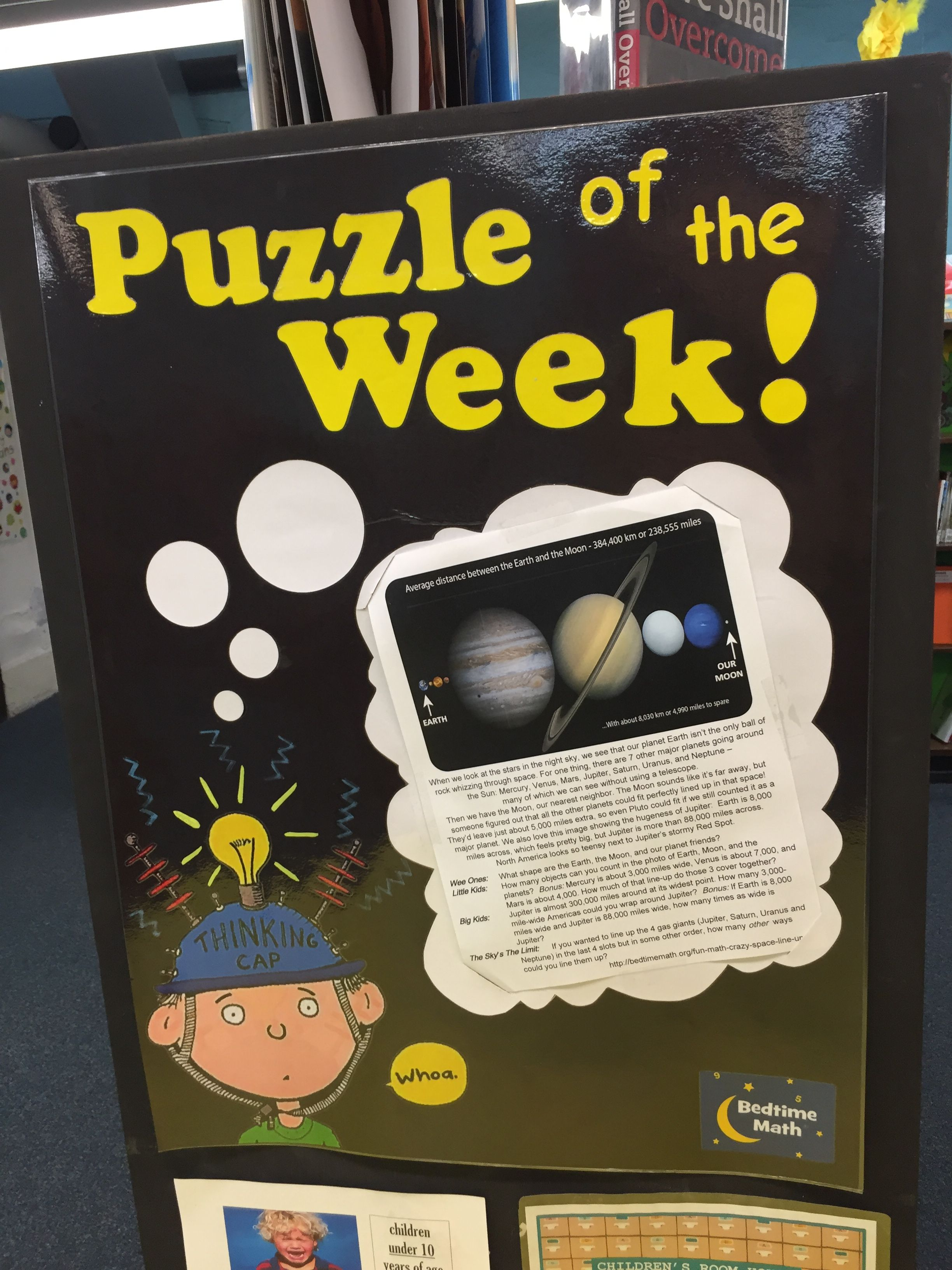 Check out the puzzle of the week!