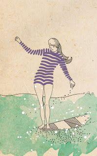 surf illustration, Emily Hamilton