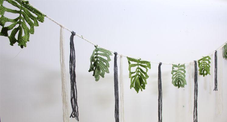 How To Crochet A Leaf Garland - Hobbycraft Blog